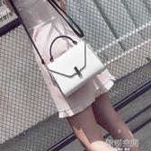 手提包女韓版潮單肩女包個性時尚凱莉包小包百搭斜背包包 韓語空間