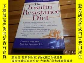 二手書博民逛書店The罕見Insulin - Resistance Diet 胰