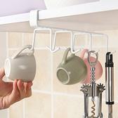 【BlueCat】家用廚房櫥櫃衣櫃八爪白色掛勾架