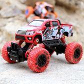 兒童越野車玩具車仿真合金大模型男孩小汽車模型賽車回力驅動