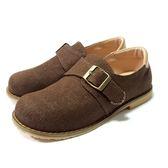 英倫  紳士復古休閒鞋 《7+1童鞋》A364  咖啡色