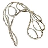 Dior 迪奧 純銀簍空手環【二手名牌 BRAND OFF】
