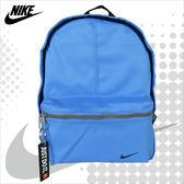 NIKE 後背包 JUST DO IT  藍色 經典後背包 小背包 兒童 休閒 BA4606-412  MyBag得意時袋
