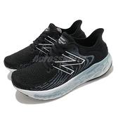 New Balance 慢跑鞋 1080v11 寬楦 女鞋 黑 白 慢跑 馬拉松 訓練 緩震 運動鞋【ACS】 W1080B11D