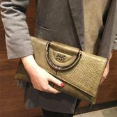 手拿包女士大容量簡約手提包2018新款女包宴會包斜挎包 LI1818『時尚玩家』