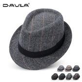 新款男女英倫復古紳士爵士帽韓版潮時尚小禮帽遮陽帽舞台表演帽子
