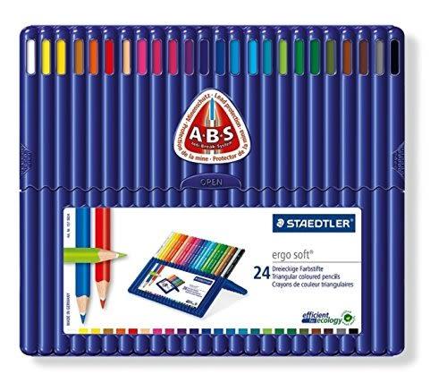 德國施德樓STAEDTLER-esgo soft全美24色鉛筆*157SB24