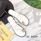 IN'SHOP涼鞋-低調奢華美鑽繞指涼拖鞋-共3色【KF00887】