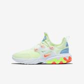 Nike React Presto GS [BQ4002-700] 大童鞋 慢跑 運動 休閒 舒適 輕量 透氣 黃橘