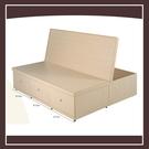 【多瓦娜】5尺白橡色置物功能床底 21152-389003