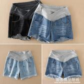 孕婦褲牛仔短褲2018新款女夏季外穿時尚寬鬆低腰打底褲子托腹夏裝