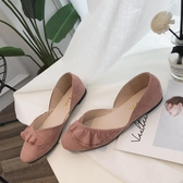 單鞋女款百搭韓版休閒舒適護士鞋晚晚平底仙女溫柔風豆豆鞋