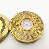 羅盤 開光純銅2寸二寸風水羅盤 香港祥龍純銅外殼2寸7層圓羅盤 城市科技