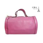 【巴黎站二手名牌專賣店】*現貨*GUCCI 真品*282302 粉紫色SOHO手提包 波士頓包