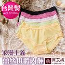 台灣製造 女性蕾絲透明網紗低腰褲 輕薄透氣 No.6102-席艾妮SHIANEY
