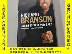 二手書博民逛書店RICHARD罕見BRANSON BUSINESS STRIPPED BARE:理查德·布蘭森的生意一貧如洗(外文