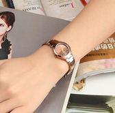 手錶 超薄防水手錶女士腕表石英女鎢鋼女錶男情侶潮流學生手鏈手錶