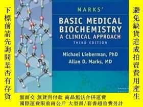 二手書博民逛書店Marks 罕見Basic Medical Biochemistry-馬爾克斯基礎醫學生物化學Y436638