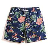 騎客沙灘褲男速干大碼寬鬆五分褲情侶男女海邊度假游泳短褲夏季潮【居享優品】