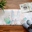 吸水踏墊/廚房地墊居家生活用品-[兔子插...