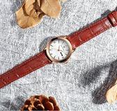 手錶女手表女年新款學生ins風韓版簡約氣質法國輕奢小眾女表小表盤 晴天時尚館