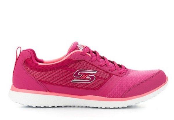 【SKECHERS 促銷6折】SKECHERS  MICROBURST Walking 紅 運動鞋