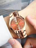 韓版超薄手錶女學生玫瑰金女錶潮流復古簡約男女士情侶手錶女腕錶『小宅妮時尚』