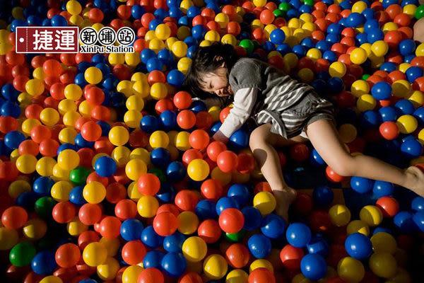 球池球屋遊戲用塑膠彩球台灣製造100顆
