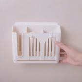 筷籠簡約小清新家用廚房瀝水掛式筷架多功能免打孔收納盒 KB7425 【野之旅】