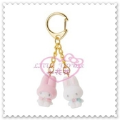 ♥小花花日本精品♥Hello Kitty 美樂蒂利茲姆吊飾包包掛飾鑰匙圈鎖圈立體公仔造型日本限定 58910801