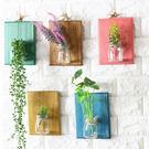 【BlueCat】多彩木板植物花壁掛水培...