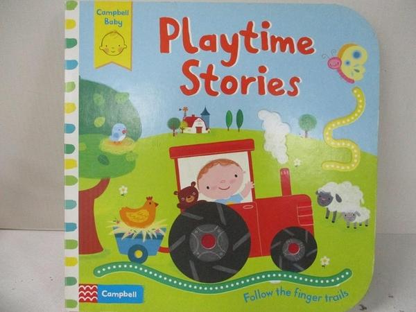 【書寶二手書T9/少年童書_EHA】Playtime Stories (Follow the Finger Trails)_Campbell Books