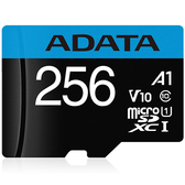ADATA 256GB Premier microSDXC UHS-I Class10 A1 V10 記憶卡