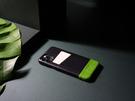Alto iPhone 11 真皮手機殼背蓋 6.1吋 Metro - 渡鴉黑/萊姆綠 【可加購客製雷雕】皮革保護套