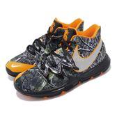 Nike Kyrie 5 GS Taco 黑 橘 反光設計 籃球鞋 Irving 5代 女鞋 大童鞋【PUMP306】 AQ2456-902