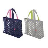 日本CB Japan 水玉點點保溫托特肩揹袋20L(共2色) 野餐袋 手提袋 環保袋 購物袋 保溫保冷 好生活