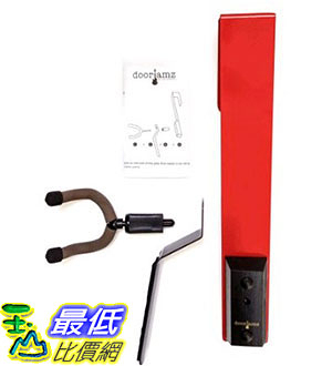 [105美國直購] Guitar Hanger-1 Best Selling Guitar Door Display Space-Saving Solution To Guitar Stands And Guitar Wall Hangers