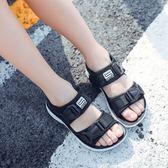 男童涼鞋2018新款韓版兒童夏季7中大童鞋子9軟底小學生12歲沙灘鞋   夢曼森居家
