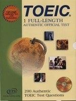 二手書博民逛書店《FULL-LENGTH AUTHENTIC OFFICIAL TEST(附1CD)》 R2Y ISBN:9868017734