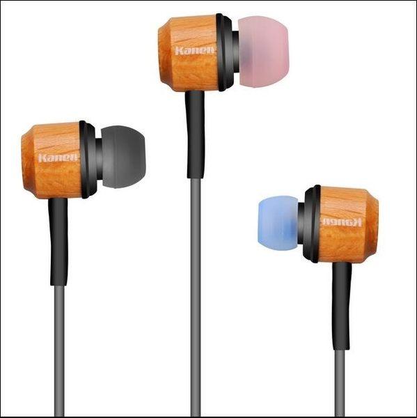 手機通用入耳式木質手工耳機耳塞 Ac6307『毛菇小象』