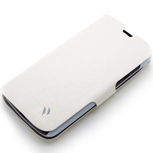 Redberry HTC Desire 500 (可立式)水絲紋薄型筆記本皮套