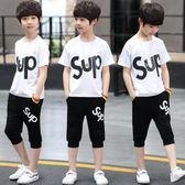 兒童裝男童夏中大童夏季短袖 7色