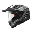 【東門城】ASTONE MX800 BF7 (平光黑/銀) 全罩式安全帽 多功能 快拆式帽舌