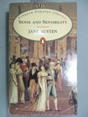 【書寶二手書T1/原文小說_OCT】Sense and Sensibility_Austen, Jane