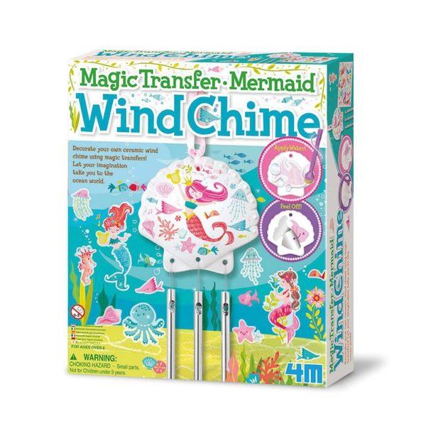 【4M】美勞創作系列 - 神奇轉印貼-人魚風鈴 Mermaid Wind Chime 00-04683