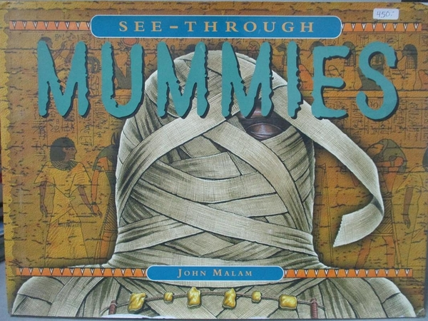 【書寶二手書T2/少年童書_ZDK】See-Through Mummies_John Malam