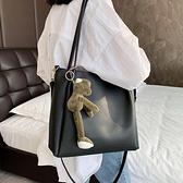 斜背包 夏天女包包潮韓版百搭斜背包大容量側背包時尚洋氣托特包  芊墨左岸 上新