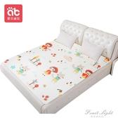 隔尿墊大號超大1.8m床單嬰兒童防水可洗純棉隔夜床墊保護夏天透氣 果果輕時尚