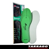 【TARRAGO塔洛革】葉綠素松香鞋墊(全尺寸可自行剪裁)-運動鞋適用  麂皮鞋適用  透氣鞋墊