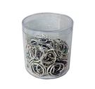 《享亮商城》Q09701 卡片環 3/4吋(鍍鎳)-PS圓桶100入